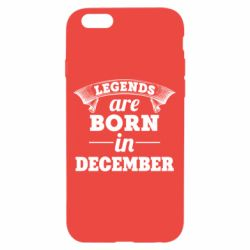 Чехол для iPhone 6/6S Legends are born in December
