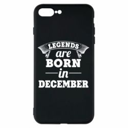 Чехол для iPhone 7 Plus Legends are born in December