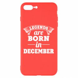 Чехол для iPhone 8 Plus Legends are born in December