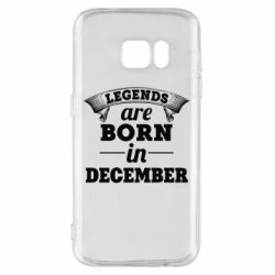 Чехол для Samsung S7 Legends are born in December