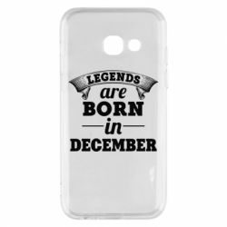 Чехол для Samsung A3 2017 Legends are born in December