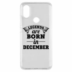 Чехол для Xiaomi Mi A2 Legends are born in December