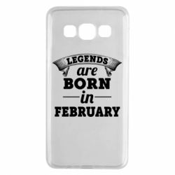 Чехол для Samsung A3 2015 Legends are born in February
