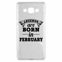 Чехол для Samsung A5 2015 Legends are born in February