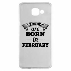 Чехол для Samsung A5 2016 Legends are born in February