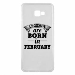 Чехол для Samsung J4 Plus 2018 Legends are born in February