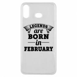 Чехол для Samsung A6s Legends are born in February