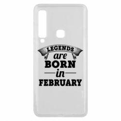 Чехол для Samsung A9 2018 Legends are born in February