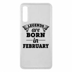 Чехол для Samsung A7 2018 Legends are born in February