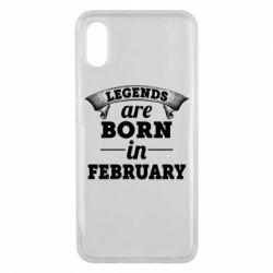 Чехол для Xiaomi Mi8 Pro Legends are born in February