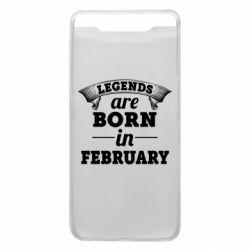 Чехол для Samsung A80 Legends are born in February
