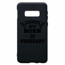 Чехол для Samsung S10e Legends are born in February