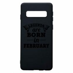 Чехол для Samsung S10 Legends are born in February