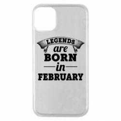 Чехол для iPhone 11 Pro Legends are born in February
