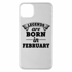 Чехол для iPhone 11 Pro Max Legends are born in February