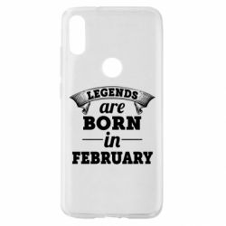 Чехол для Xiaomi Mi Play Legends are born in February