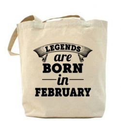 Сумка Legends are born in February