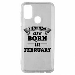 Чехол для Samsung M30s Legends are born in February