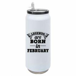 Термобанка 500ml Legends are born in February