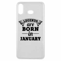 Чехол для Samsung A6s Legends are born in January