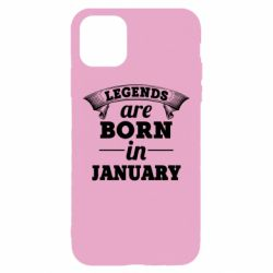 Чехол для iPhone 11 Pro Max Legends are born in January