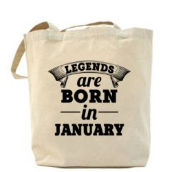 Сумка Legends are born in January