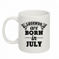 Кружка 320ml Legends are born in July