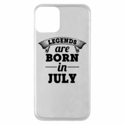 Чехол для iPhone 11 Legends are born in July