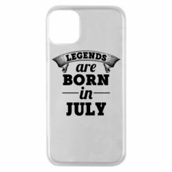 Чехол для iPhone 11 Pro Legends are born in July