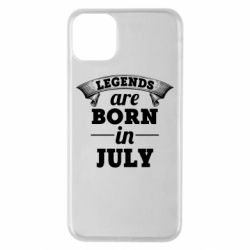 Чехол для iPhone 11 Pro Max Legends are born in July