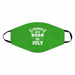 Маска для лица Legends are born in July