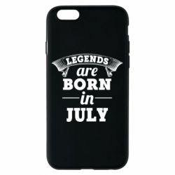 Чехол для iPhone 6/6S Legends are born in July