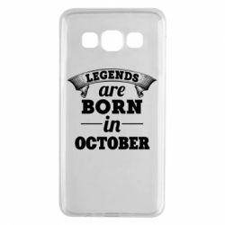 Чехол для Samsung A3 2015 Legends are born in October
