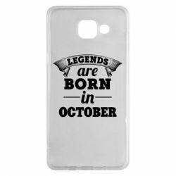 Чехол для Samsung A5 2016 Legends are born in October