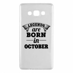 Чехол для Samsung A7 2015 Legends are born in October