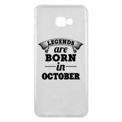 Чехол для Samsung J4 Plus 2018 Legends are born in October