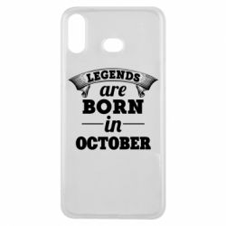 Чехол для Samsung A6s Legends are born in October