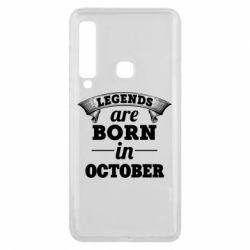 Чехол для Samsung A9 2018 Legends are born in October