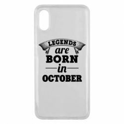 Чехол для Xiaomi Mi8 Pro Legends are born in October