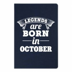 Блокнот А5 Legends are born in October