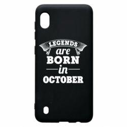 Чехол для Samsung A10 Legends are born in October