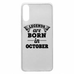 Чехол для Samsung A70 Legends are born in October