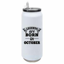 Термобанка 500ml Legends are born in October