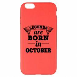 Чехол для iPhone 6 Plus/6S Plus Legends are born in October