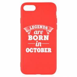 Чехол для iPhone 7 Legends are born in October