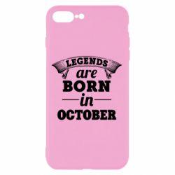 Чехол для iPhone 7 Plus Legends are born in October
