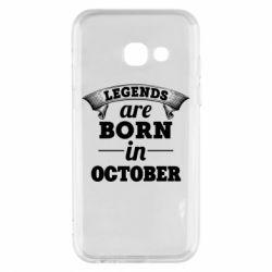 Чехол для Samsung A3 2017 Legends are born in October