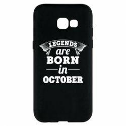 Чехол для Samsung A5 2017 Legends are born in October