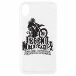 Чохол для iPhone XR Legends motorcycle