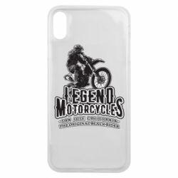 Чохол для iPhone Xs Max Legends motorcycle